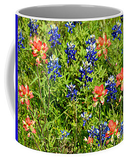 Decorative Texas Bluebonnets Meadow Digital Photo G33117 Coffee Mug