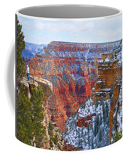 Coffee Mug featuring the photograph Deep And Wide by Roberta Byram