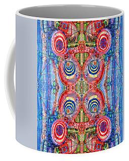 Deep Dream Tweedledee Coffee Mug