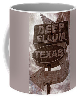 Deep Ellum Texas Coffee Mug by Jonathan Davison