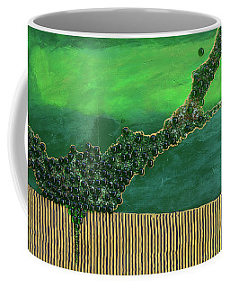 Deep Impact Coffee Mug by Donna Blackhall