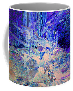 Coffee Mug featuring the photograph Deep In The Forest by Joyce Dickens