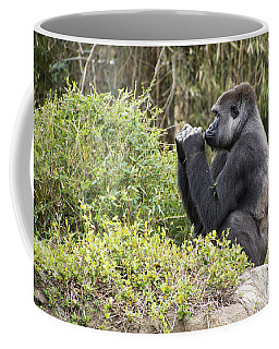 Deep In Thought Coffee Mug by Ricky Dean