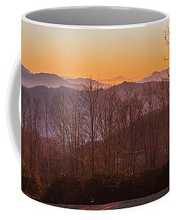 Deep Orange Sunrise Coffee Mug