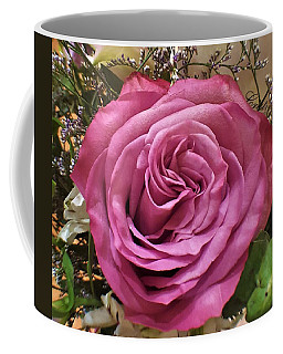 Deep Pink Rose Coffee Mug