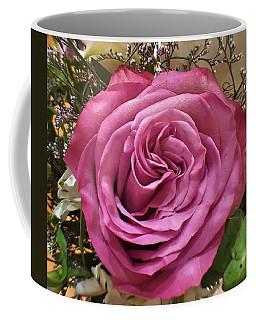 Deep Pink Rose Coffee Mug