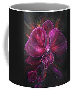 Deep Purple Orchid Coffee Mug