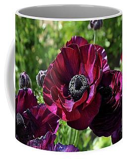 Deep Ranunculus Coffee Mug