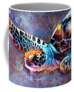 Deep Sea Trutle Coffee Mug