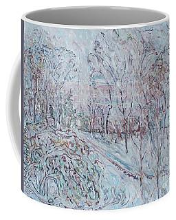 Deep Snow In Strastnoy Boulevard Coffee Mug