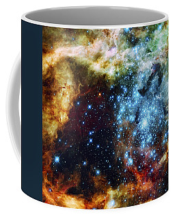 Deep Space Fire And Ice 2 Coffee Mug by Jennifer Rondinelli Reilly - Fine Art Photography