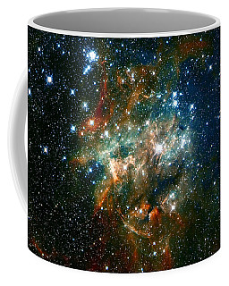 Deep Space Star Cluster Coffee Mug by Jennifer Rondinelli Reilly - Fine Art Photography