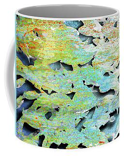 Coffee Mug featuring the mixed media Deep by Tony Rubino