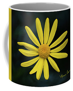Deep Yellow Flower Coffee Mug