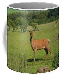 Deer Calf. Coffee Mug