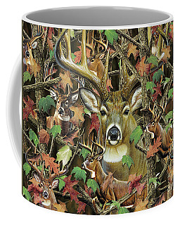 Deer Camo Coffee Mug