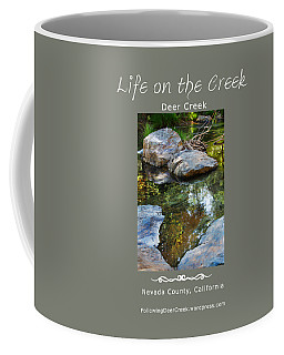 Deer Creek Point - White Text Coffee Mug