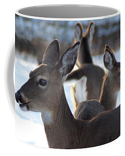 Deer Family Coffee Mug