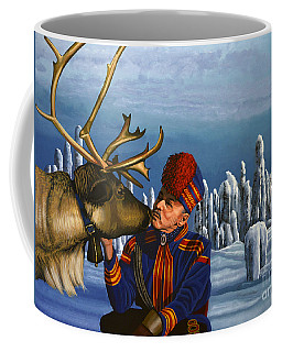 Deer Friends Of Finland Coffee Mug