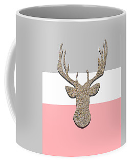 Deer Head Silhouette Coffee Mug
