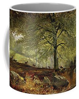 Deer In A Wood Coffee Mug