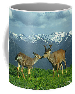 Ma-181-deer In Love  Coffee Mug