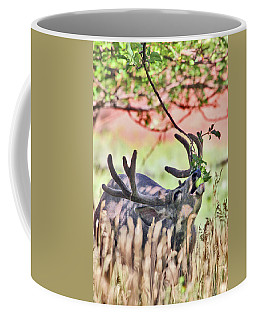 Deer In The Orchard Coffee Mug