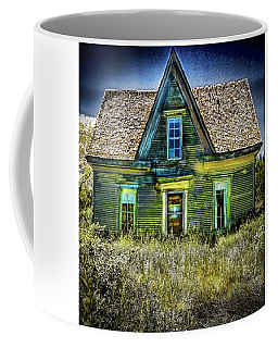 Deer Isle Haunted House Coffee Mug