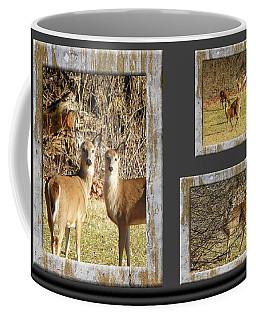 Deer Lovers Coffee Mug by Tina M Wenger
