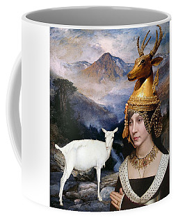 Deer Medicine Woman Coffee Mug