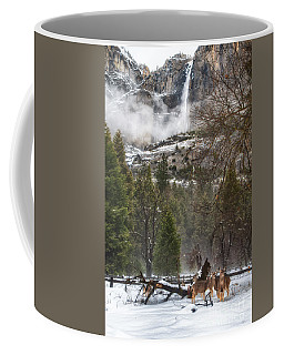 Deer Of Winter Coffee Mug