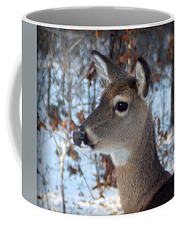 Deer Portrait Coffee Mug