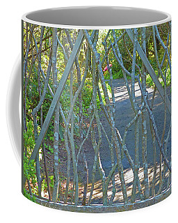 Deer Proof Gate Coffee Mug by K L Kingston