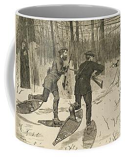 Deer-stalking In The Adirondacks In Winter Coffee Mug