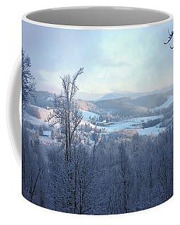 Deer Valley Winter View Coffee Mug by Meta Gatschenberger