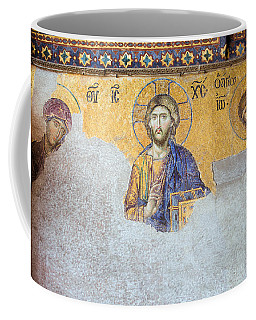 Deesis Mosaic Of Jesus Christ Coffee Mug