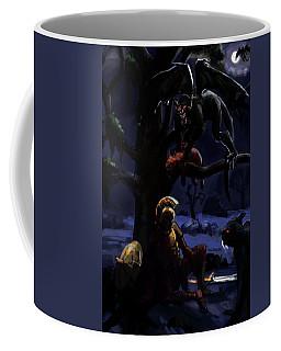 Defeated Hero Coffee Mug