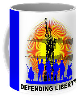 Defending Liberty 1 Coffee Mug