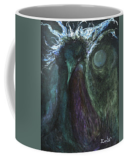 Coffee Mug featuring the painting Deformed Transcendence by Christophe Ennis
