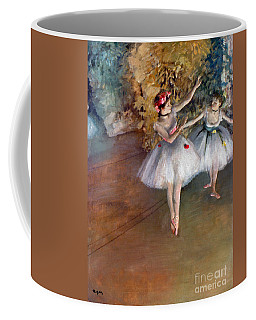 Coffee Mug featuring the photograph Degas: Dancers, C1877 by Granger