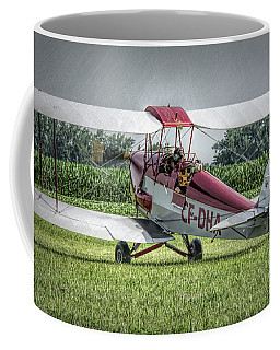 Dehavilland Dh-82c Tiger Moth Coffee Mug by Guy Whiteley