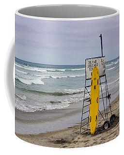 Del Mar Lifeguard Tower Coffee Mug