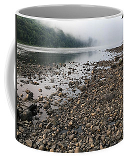 Delaware River Mist Coffee Mug by Helen Harris