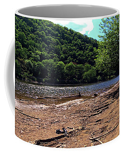 Delaware River Sneakers  Coffee Mug
