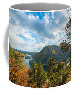 Delaware Water Gap In Autumn Coffee Mug