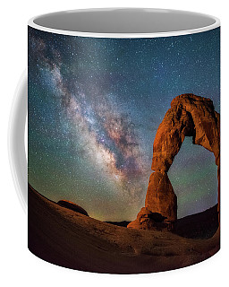 Coffee Mug featuring the photograph Delicate Air Glow by Darren White