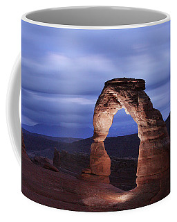 Delicate Arch At Twilight Coffee Mug