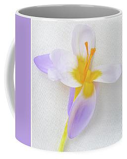 Delicate Art Of Crocus Coffee Mug by Terence Davis