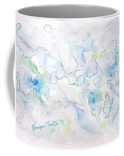 Coffee Mug featuring the painting Delicate Elegance by Monique Faella