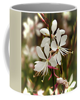 Delicate Gaura Flowers Coffee Mug by Joann Copeland-Paul